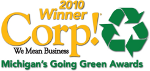 2010 Winner Michigan Going Green Awards