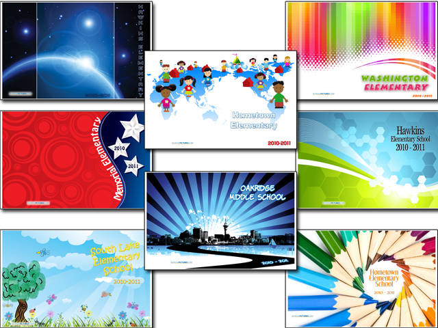 Sample Yearbook Covers